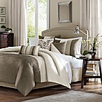 Madison Park Amherst 7-Piece King Comforter Set in Ivory/Beige