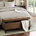 Regency Heights® Amherst Bench Storage Ottoman in Chocolate