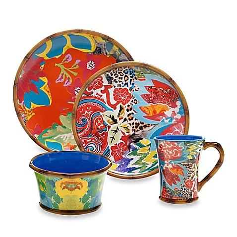 Tracy Porter® Poetic Wanderlust® Magpie Dinnerware Collection - Bed ...