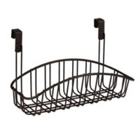Spectrum™ Small Contempo Over the Cabinet Door Basket in Bronze