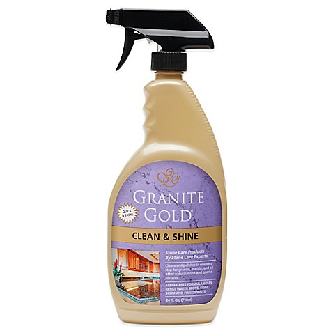 Granite Gold 174 24 Oz Clean And Shine Daily Cleaner Bed