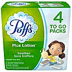 Puffs® Plus Lotion™ 4-Pack Facial Tissue