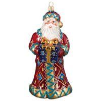 Joy to the World Collectibles Krakow Santa Crimean Christmas Ornament