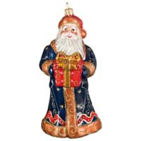 Joy to the World Collectibles Krakow Santa Fresco Christmas Ornament