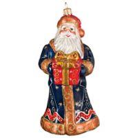 Joy to the World Collectibles Krakow Santa Fresco Christmas Ornament