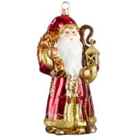 Joy to the World Collectibles Gdansk Santa Amber Version