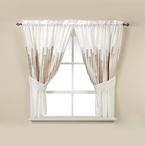 kenneth cole curtains buy kenneth cole reaction home window curtain tier 124