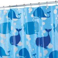 InterDesign® PEVA Moby Shower Curtain