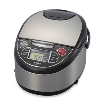 Rice Cooker with Stainless Bowl