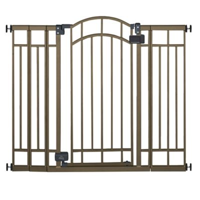 HOMESAFETM By Summer InfantR Multi Use Deco Extra Tall Walk Thru Gate