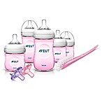 Philips Avent Natural Infant Starter Set in Pink