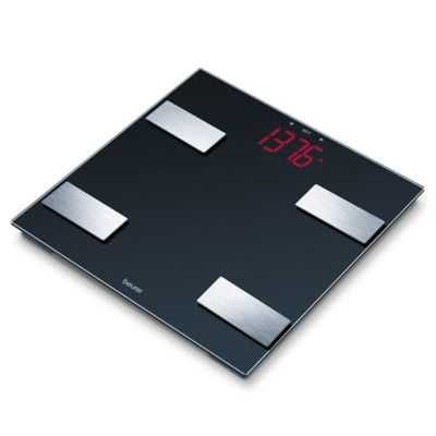 Beurer Glass Digital Body Analysis Bathroom Scale. Buy Digital Scales from Bed Bath   Beyond