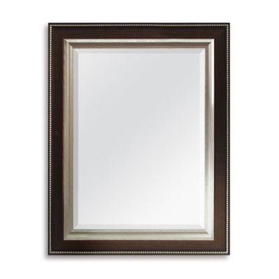 Bronze Bead 21 Inch X 27 Wall Mirror