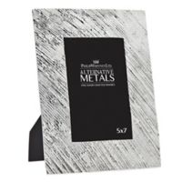 Philip Whitney Alternative Metals 5-Inch x 7-Inch Brushed Aluminum Frame