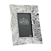 Philip Whitney Alternative Metals 4-Inch x 6-Inch Wrinkle Aluminum Frame