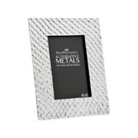 Philip Whitney Alternative Metals 4-Inch x 6-Inch Mesh Aluminum Frame