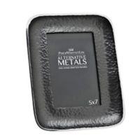 Philip Whitney Alternative Metals 5-Inch x 7-Inch Hammered Aluminum Frame