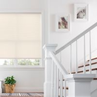 Real Simple® Cordless Pleated 22-Inch x 64-Inch Shade in Ivory