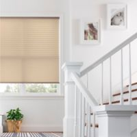 Real Simple® Cordless Pleated 31.5-Inch x 64-Inch Shade in Wheat