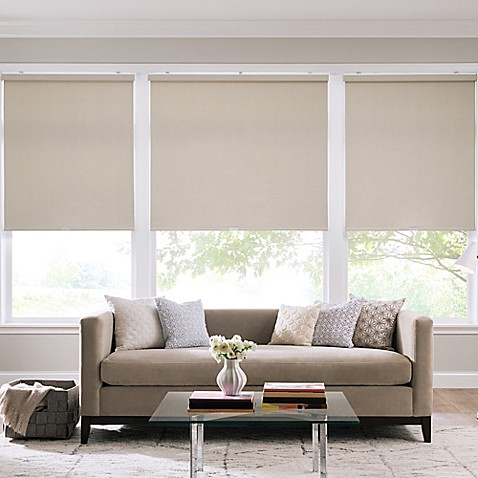 real simple 174 cordless roller shade bed bath amp beyond 85727