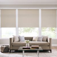 Real Simple® Cordless Cotton Twill Roller 33-Inch x 66-Inch Shade in Taupe