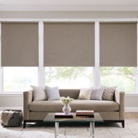 Real Simple® Cordless Linen Look Roller 43-Inch x 66-Inch Shade in Dune