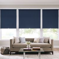 Real Simple® Cordless Cotton Twill Roller 58-Inch x 74-Inch Shade in Indigo