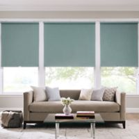 Real Simple® Cordless Faux Silk Roller 67-Inch x 66-Inch Shade in Sea Mist