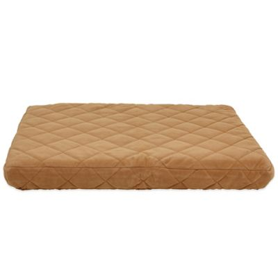 carolina pet company small quilted orthopedic jamison pet bed in caramel - Jamison Mattress