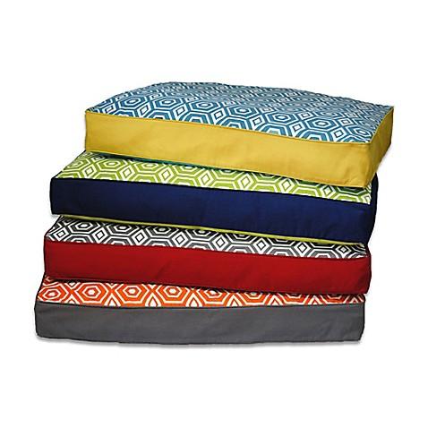 EZ Living Home Honeycomb Memory Foam Water Repellent Dog Pillow Bed Bed Ba