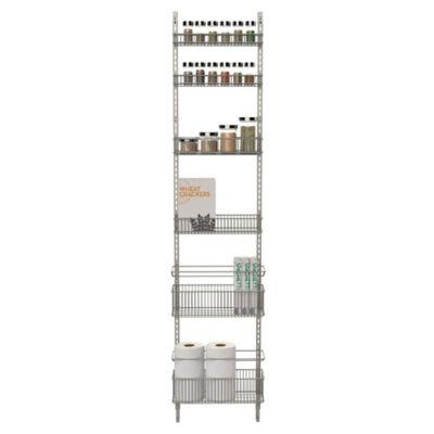 .ORG Premium Over-the-Door Steel Frame Pantry Organizer in Nickel