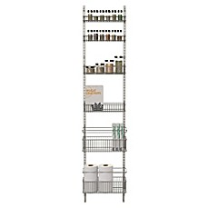 ORG Premium Over The Door Steel Frame Pantry Organizer .