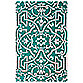 Chatham Arabesque 3-Foot 6-Inch x 5-Foot 6-Inch Scatter Rug in Mint
