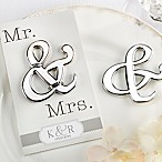 "Kate Aspen® ""Mr. & Mrs."" Bottle Opener"