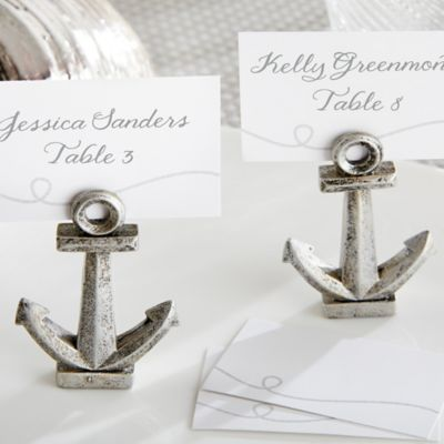 kate aspen anchor place cardphoto holders set of 6
