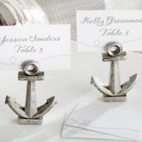 Kate Aspen® Anchor Place Card/Photo Holders (Set of 6)