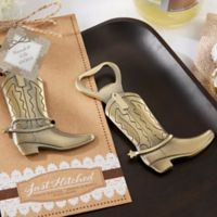 "Kate Aspen® ""Just Hitched"" Cowboy Boot Bottle Opener"