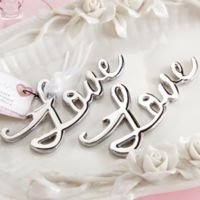 "Kate Aspen® ""Love"" Bottle Opener"