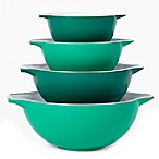 Creo 4-Piece Mixing Bowl Set in Bali Green