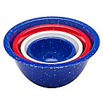 Zak! Designs® Confetti Nesting Mixing Bowls in Assorted Colors (Set of 4)