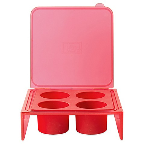 Architec 174 Silicone Savor Cube Tray In Red Bed Bath Amp Beyond
