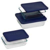 Pyrex® 6-Piece Rectangular Bakeware Set