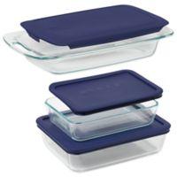 Pyrex® Easy Grab 6-Piece Bakeware Set