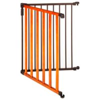 North States™ 4-Foot Extension Home & Hearth Gate™ in Chestnut/Bronze