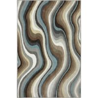 Karastan Euphoria Larkhall 3-Foot 6-Inch x 5-Foot 6-Inch Rug in Granite