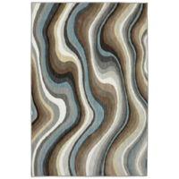 Karastan Euphoria Larkhall 9-Foot 6-Inch x 12-Foot 11-Inch Rug in Granite
