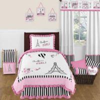 Sweet Jojo Designs Paris Twin Comforter Set