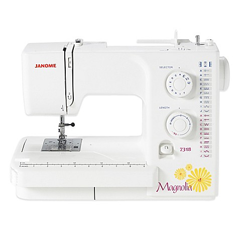 janome magnolia 7318 sewing machine review