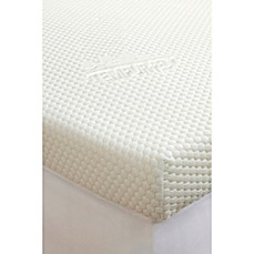 supreme 3inch mattress topper in white - Extra Firm Mattress Topper
