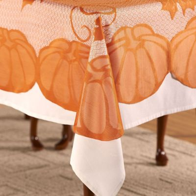 buy fall tablecloths from bed bath & beyond